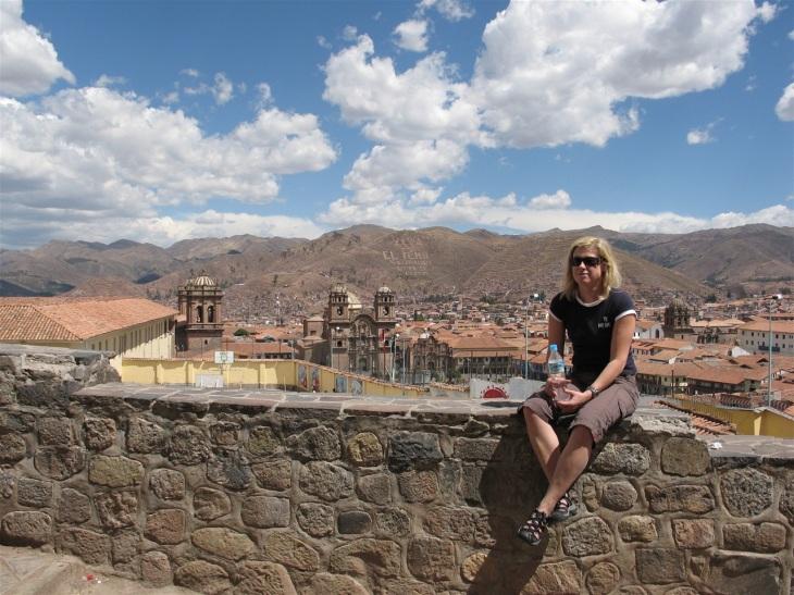 Cusco uppifrån
