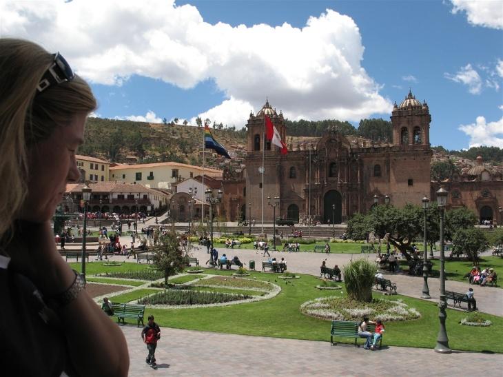 Cuscotorget och La Catedral