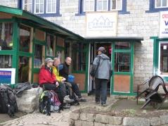 Första nattens logi: Everest Sherpa Resort i Phakding.