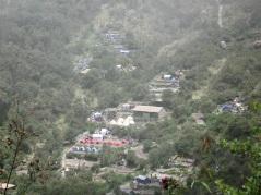 Pacaymayo valley. Där nere hägrar lunchen.