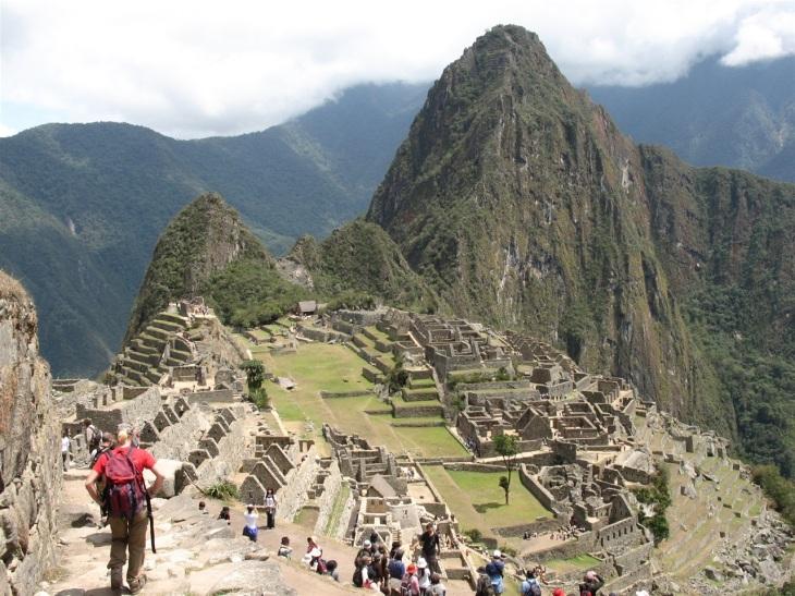 Dag 4 Boplats Machu Picchu