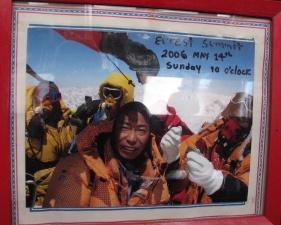Pemas Everest Summit 2006.
