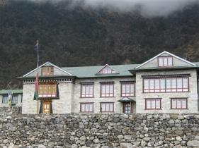 Pema och hans familj driver Village View Lodge.