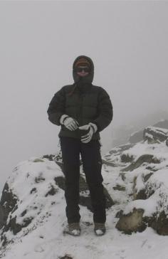 Acklimatiseringsklättring upp till 4700 m ö h.