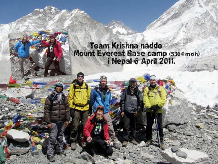 Dag 9 Mt Everest Base Camp 6 april 2011