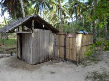 Dusch och toalett.