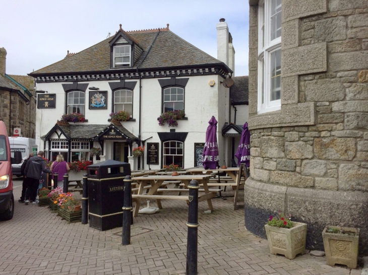 Eng The Kings Arms i Marazion