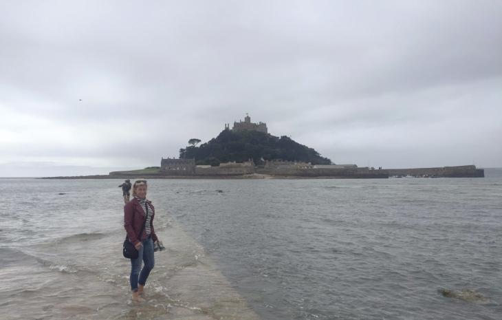 Eng Tidvatten mot St Michaels Mount