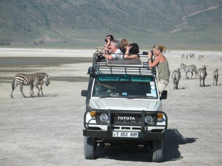 Jeepsafari spaning