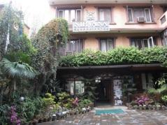 Nirvana Hotel i Thamel i Kathmandu.