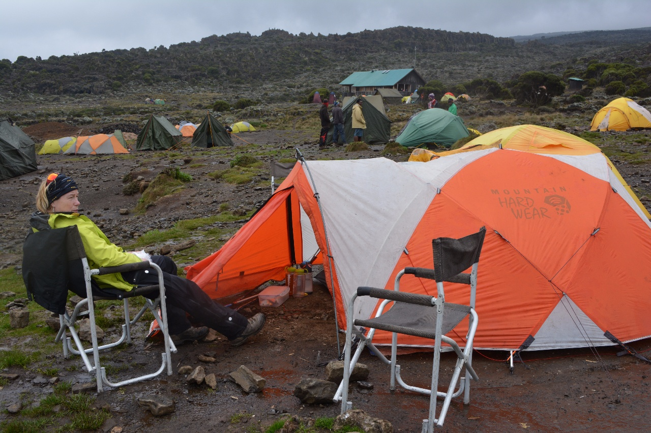 Kili Dag 2 Shira Hut Camp