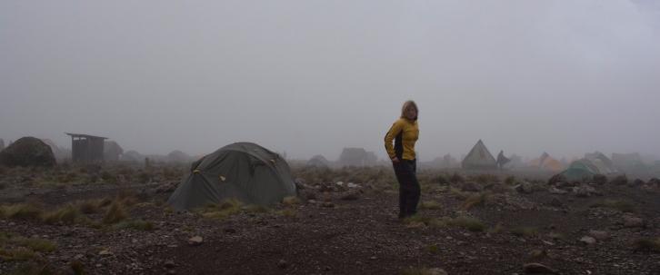 Dimman tätnar i Karranga Valley.