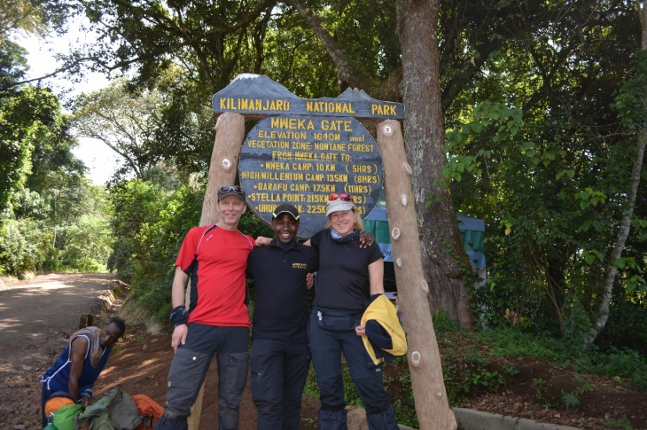 Kili Dag 7 Med Mashak på Mweka Gate