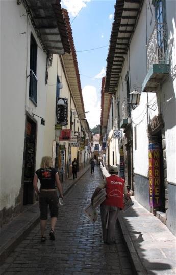 Smal gata i Cusco