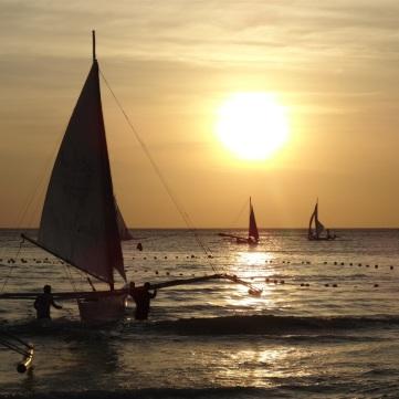 Solnedgång à la Boracacy