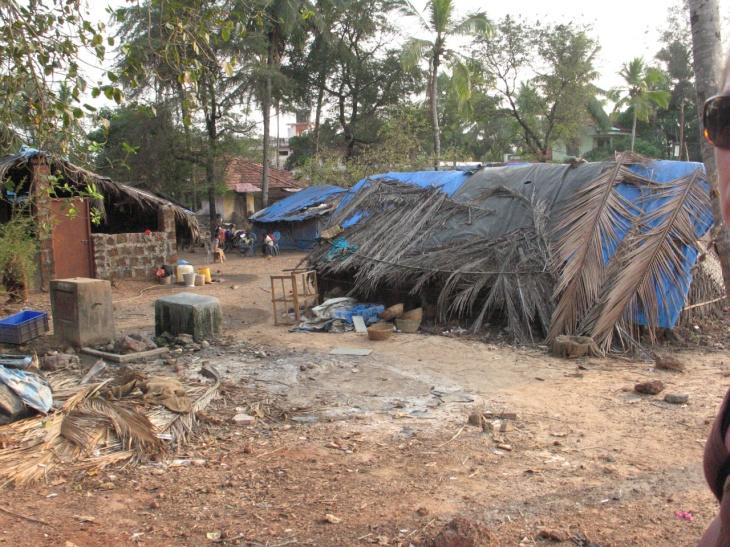Goa fattigt