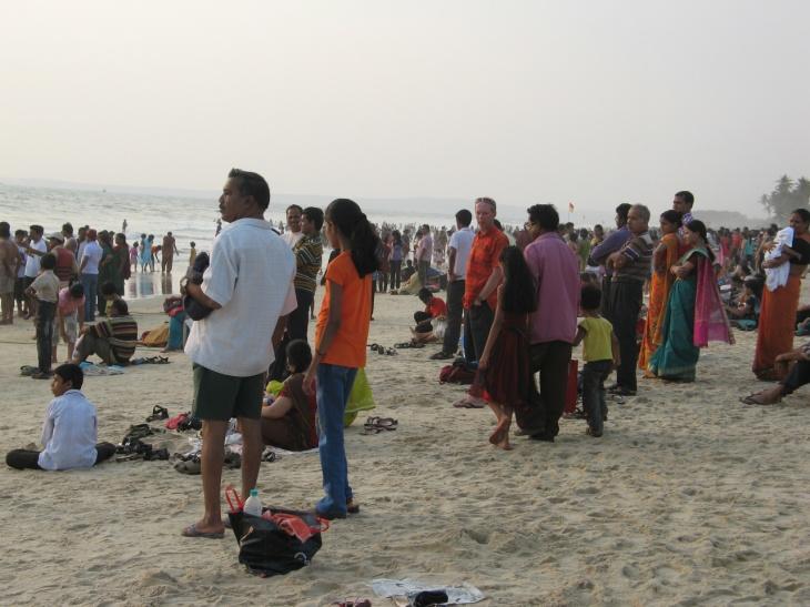 Goa Indier colva beach