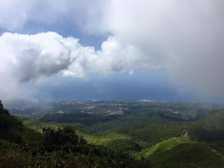 Guadeloupe moln