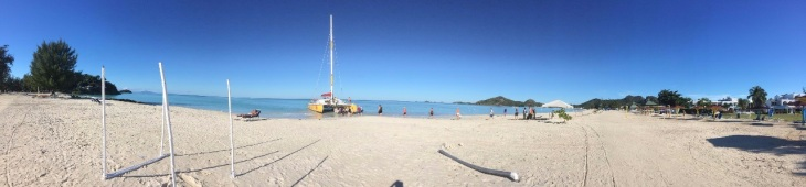 Karibien stranden