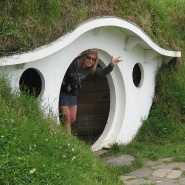 NZ Hobbiton Erja i hus