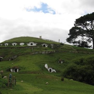 NZ Hobbiton hus