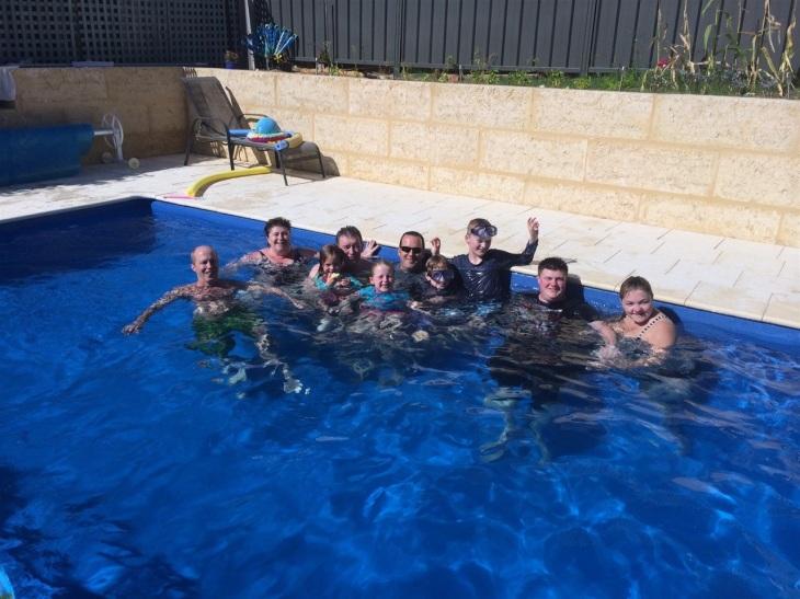Oz Poolhäng hos Kings