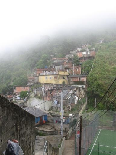 Santa Marta favela.