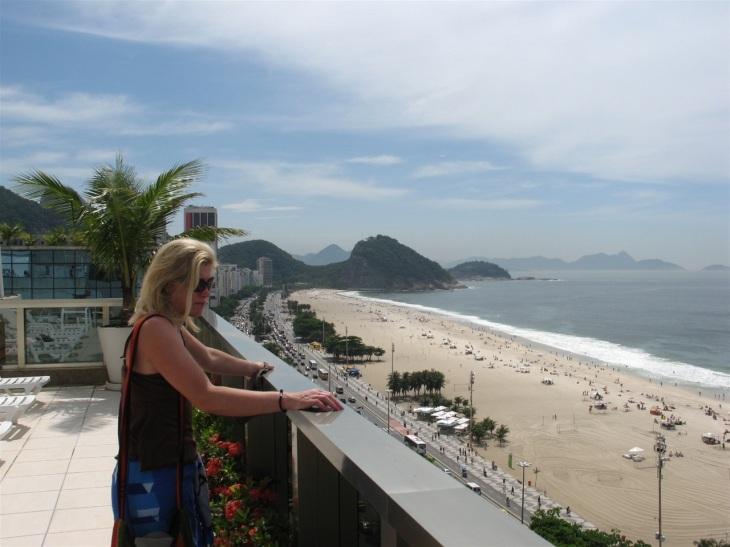 Rio hotellterassen