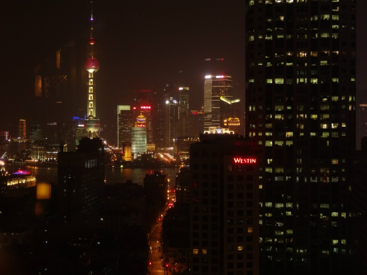 Shanghai Pudong vy