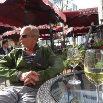 Vinpaus på Bar Tazza Dóro på East Nanjing Rd.
