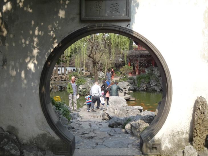 Shanghai Yuyuan garden rund