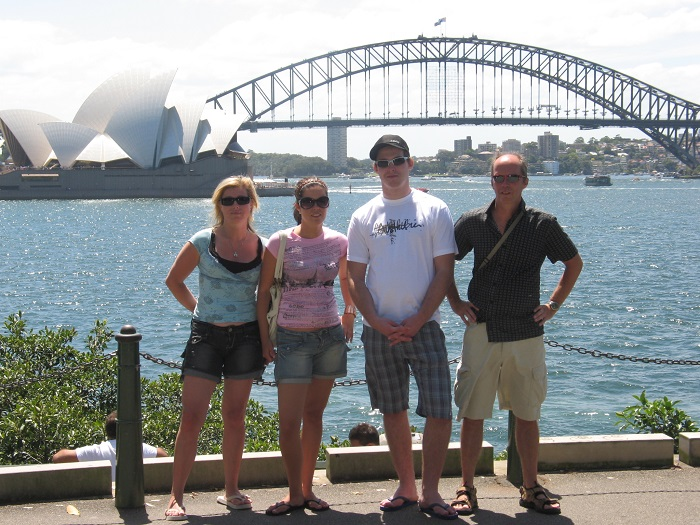 Sydney Harbour Bridge Fam Persson