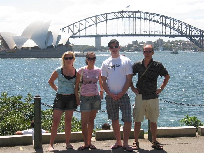 Sydney Harbour Bridge Fam Persson