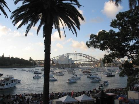 Sydney Nyår bron opera