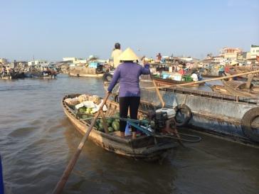 Cai Rang floating Market.