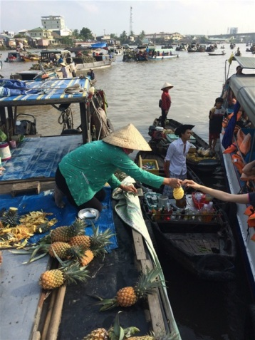 Cai Rang floating Market.