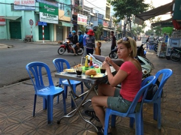 Frukost i Can Thu.