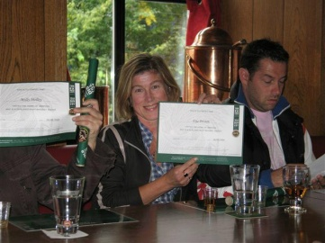 Qualified Irish Whiskey taster.
