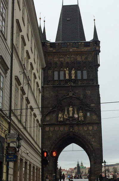 Charles Bridge gate