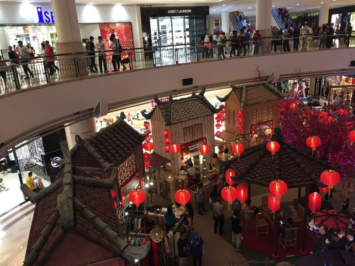 Surina KLCC Shopping Mall.