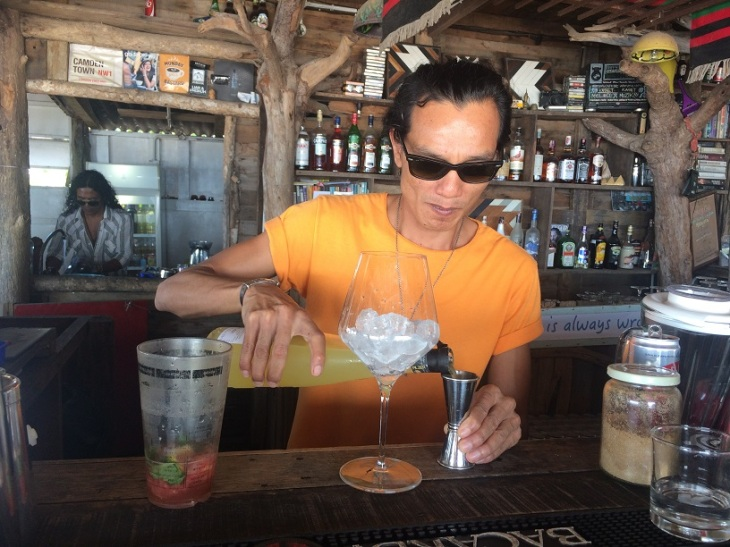 Langkawi Bartender Beach bar