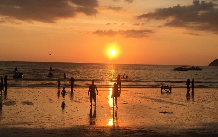 Langkawi Chenang solnedgång