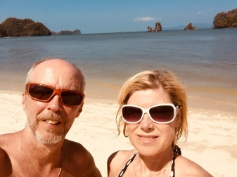 Langkawi Tanjung Rhu beach Selfie