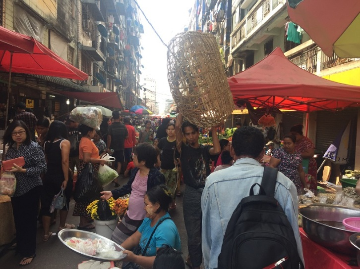 Yangon Busy busy