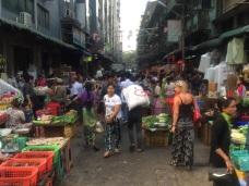 Yangon Gatumarknad