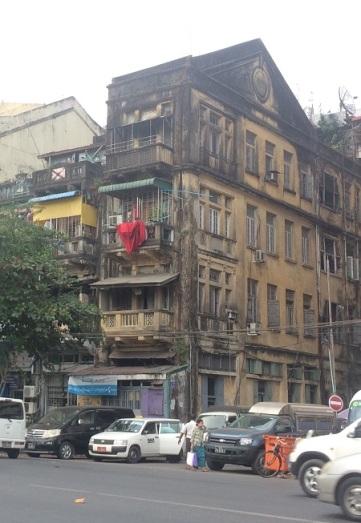 Yangon Mindre välbevarad byggnad