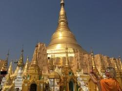Yangon Shwedagon GULD