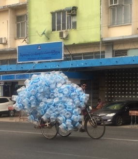 Yangon Vattenflaskor
