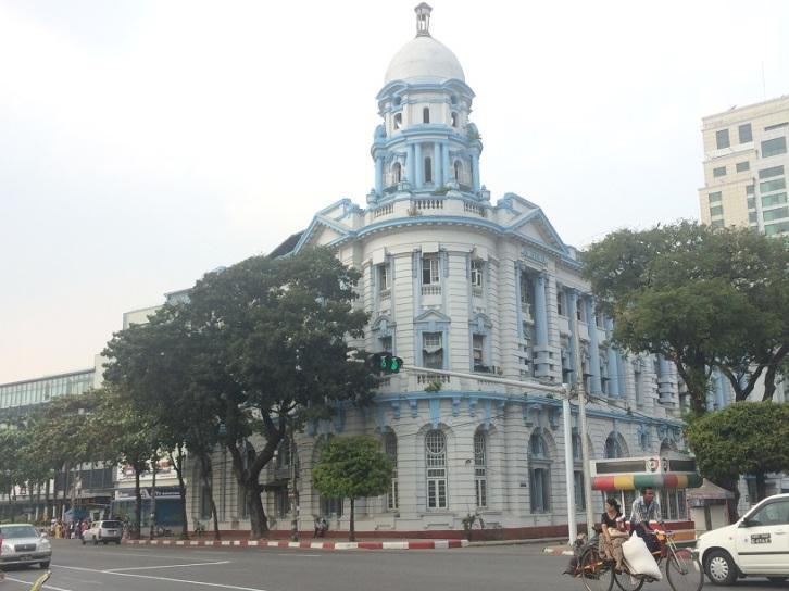 Yangon Välbevarad byggnad