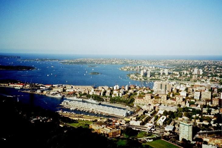 24. Staden sett från Sydney Tower